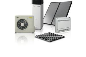 """<div class=""""bildtext_1"""">""""Rotex Comfort 365 – HPSU compact"""" mit Fußbodenheizung oder Gebläsekonvektor und optional mit thermischer Solaranlage</div>"""