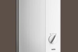 """<div class=""""bildtext_1"""">In den Duschanlagen übernehmen die elektronisch gesteuerten Durchlauferhitzer """"DDLE Easy"""" die Warmwasserversorgung. Die Steuerelektronik sorgt für eine gute Temperaturkonstanz.</div>"""