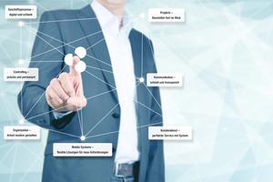 """<div class=""""bildtext_1"""">Starten in das Handwerk 4.0 – eine kaufmännische Branchensoftware digitalisiert die Geschäftsprozesse. </div>"""