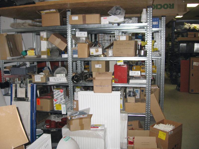 chaotisches lagersystem