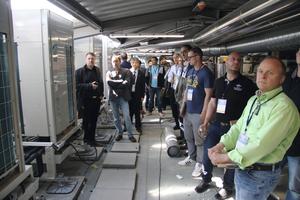 """<div class=""""bildtext_1"""">Besichtigung der Gebäudetechnik von Daikin im Arborea Marina Resort in Neustadt </div>"""