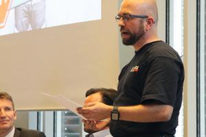 """<div class=""""bildtext_1"""">Frank Lefarth, Handwerker und einer der Initiatoren bei der Veranstaltung in Meschede</div>"""