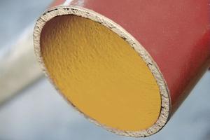 """<div class=""""bildtext_1"""">Werkstoff der neuen ACO """"SM-X"""" Rohre ist eine Eisen-Kohlenstoff-Legierung mit hohem, in der Grundmasse lamellenartig und fein verteilt eingelagertem Graphitanteil.</div>"""