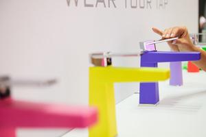 """Die ISH, Weltleitmesse für Wasser, Wärme, Klima, präsentiert unter anderem die Trendshow """"Pop up my Bathroom""""."""