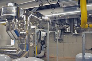 """<div class=""""bildtext_1"""">Bauteile aus den Raab-Systemen """"EW-Alkon"""" und """"DW-Alkon"""" wurden für die Abgasanlagen eingesetzt.</div>"""