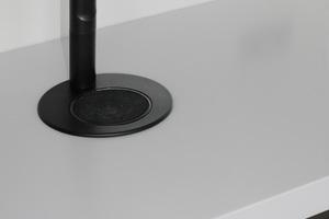 """<div class=""""bildtext_1"""">Die schwarze """"Zip-Armatur"""" liefert kochendes, gekühltes und kohlensäurehaltiges Trinkwasser auf Knopfdruck.</div>"""