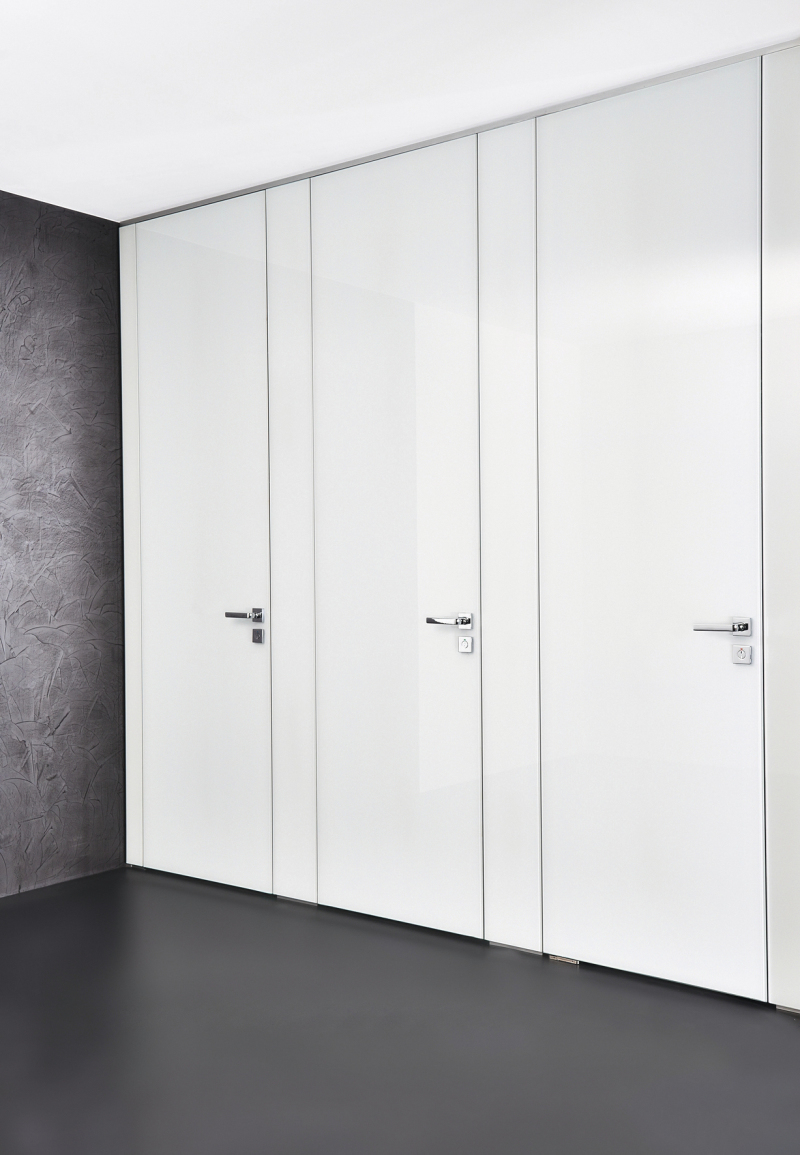 Raumhohe WC-Trennwand - SHK Profi