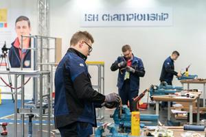 """<div class=""""bildtext_1"""">Nach vier intensiven Wettbewerbstagen stand der Sieger der ISH-Championship fest. </div>"""