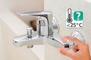 """<div class=""""bildtext_1"""">Thermo-Trenner bieten Sicherheit bei der Trinkwasserinstallation für den Fachhandwerker. </div>"""