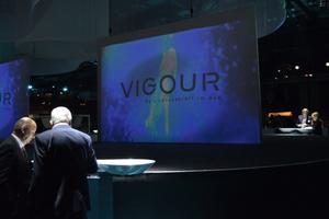 """<div class=""""bildtext_1"""">Inspiriert von der Modewelt setzt die Kollektion """"Vogue"""" von Vigour auf fließende und weiche Formen.</div>"""