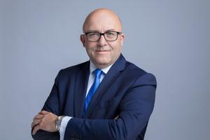 Jonas Brennwald, Chief Sales Officer, stellvertretender CEO der Grohe AG und Teil des Grohe Vorstands.