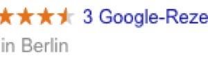 """<div class=""""bildtext_1"""">Bewertungen die im Zusammenhang mit&nbsp; Google My Business abgegeben werden, erscheinen direkt bei der Google-Suche.</div>"""