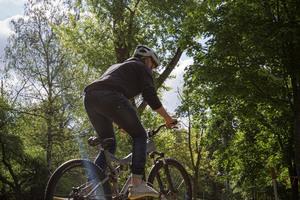 Im ersten Jahr des Wettbewerbs baute die Ernst-Reuter-Schule in Karlsruhe einen Fahrradparcours. 2020 geht MACH WAS! in die zweite Runde.