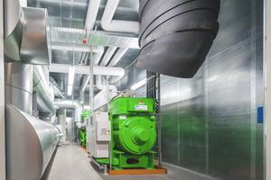 An den Standorten Lahr und Hemer sorgen Blockheizkraftwerke für mehr Energieeffizienz.