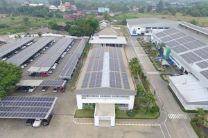 Produktionsstandort in Klaeng, Thailand.