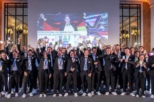 Bei einem Abend zu Ehren der Deutschen Berufe- Nationalmannschaft in Berlin wurden die Teilnehmer/innender Weltmeisterschaft der Berufe – den WorldSkills Kasan 2019 – gebührend gefeiert.