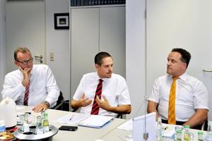 """<div class=""""bildtext_1"""">Stefan Tuschy: """"Wenn es darum geht, wie die Gefährdungsanalyse europäisch geregelt werden soll, haben wir in Deutschland einen gut abgestimmten Vorschlag.""""</div>"""