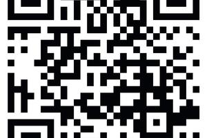 """<div class=""""bildtext_1"""">Über diesen QR-Code geht es direkt zu einer digitalen Koje von Alfred Keller. </div>"""