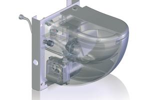 """<div class=""""bildtext_1"""">Kleinhebeanlagen können auch direkt in WC-Keramiken integriert sein – bei einigen Modellen sogar mit Waschtischanschluss. Das ist eine ebenso schicke wie platzsparende Lösung beispielsweise für ein Gäste-WC oder den Wellnessbereich im Untergeschoss eines Eigenheims.</div>"""