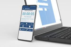 """<div class=""""Bildtext 1"""">Im neuen Look und mit noch mehr praktischen Funktionen präsentiert sich die Zeiterfassungs-App """"V.1 Zeit+"""".</div>"""