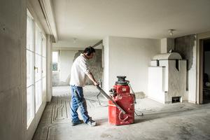 Als sogenannte Umfeldmaßnahme wird die Nachrüstung einer Fußbodenheizung bei der Heizungsmodernisierung mit Wärmepumpe jetzt auch staatlich gefördert.