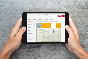 """<div class=""""bildtext_1"""">Für den einfachen Anlagenzugriff bietet die AL-KO Lufttechnik ein benutzerfreundliches Anlagendashboard.</div>"""
