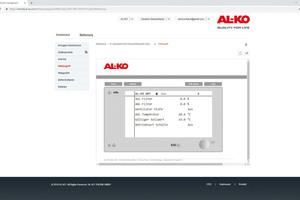 """<div class=""""bildtext_1"""">Mithilfe des AL-KO-Fernzugriffsportals ist immer und überall ein vollständiger Zugriff auf das zentrale Bediengerät der RLT-Anlage möglich.</div>"""