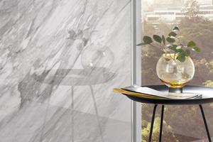 """<div class=""""bildtext_1"""">Die """"RenoDeco""""-Wandverkleidungen ermöglichen eine schnelle und saubere Teilsanierung. Die umfangreiche Dekorpalette überzeugt hochglänzend ebenso wie strukturiert.</div>"""