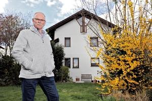 """<div class=""""bildtext_1"""">Das Haus von Otto Ruf in Elgersweier: 150 m² Wohnfläche werden hier von der Luft-/Wasser-Wärmepumpe """"WPL 25 A"""" beheizt.</div>"""