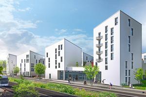 """<div class=""""bildtext_1"""">Für Panasonic ist Future Living Berlin ein Meilenstein in der Entwicklung hochmoderner und zukunftsfähiger Energielösungen. Ein wichtiger Baustein des Energiekonzepts sind die Luft-/Wasser-Wärmepumpen aus der Produktreihe """"Aquarea"""" sowie die Photovoltaik-Module """"HIT"""" von Panasonic.</div>"""