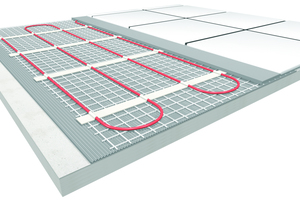 """<div class=""""bildtext_1"""">Ein Beispiel für den Aufbau einer elektrischen Fußbodenheizung.</div>"""