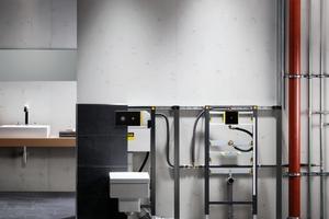 """<div class=""""bildtext_1"""">Mit der Festlegung des Rohrleitungsverlaufs bereiten Fachplaner und Fachhandwerker den Weg zu hygienischen Trinkwasser-Installationen. </div>"""