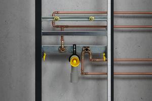 """<div class=""""bildtext_1"""">Zwingt die konkrete Vereinbarung extrem kurzer Ausstoßzeiten die Zirkulation von Trinkwasser warm nahe an die Entnahmestelle zu führen (nicht zu empfehlen), ist die Armatur über eine Auskühlstrecke anzuschließen. </div>"""