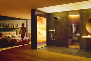 """<div class=""""bildtext_1"""">Die wohl wichtigste Komponente bei der Planung: Licht. Je nach Nutzung des Badezimmers kommt funktionales oder emotionales Licht zum Einsatz.</div>"""
