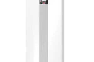 """<div class=""""bildtext_1"""">Im Bereich Heiztechnik zeigte Wolf seinen neuen bodenstehenden Gas-Brennwertkessel """"TGB-2"""".</div>"""