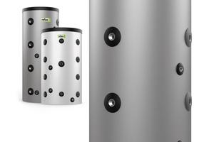"""<div class=""""bildtext_1"""">Neues rund um die Pufferspeicher der Reflex-Serie """"Storatherm Heat"""": Die nach dem Schichtenspeicher-Prinzip arbeitenden Behälter aus Qualitätsstahl sind jetzt auch für Anwendungen mit hohen Volumenströmen in Heiz- und Kühlanwendungen ausgelegt.</div>"""
