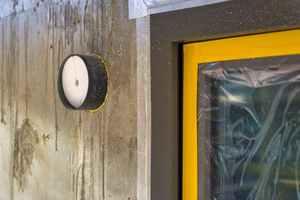 """<div class=""""bildtext_1"""">Die Fassadenelemente der """"LUNOtherm""""-Reihe werden mit den Unterputz-Klemmlüftern """"Silvento ec"""" und den Außenwand-Einschüben """"ALD"""" kombiniert.</div>"""