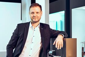"<div class=""bildtext_1"">Marc André Palm, Leiter Global Brand Marketing hansgrohe</div>"