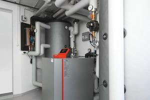 """<div class=""""bildtext_1"""">Bei der Sanierung der Heizanlage wurden neben einer Geothermie-Wärmepumpe und einer neuen Umwälzpumpe zahlreichen Taconova-Produkte eingebaut.</div>"""