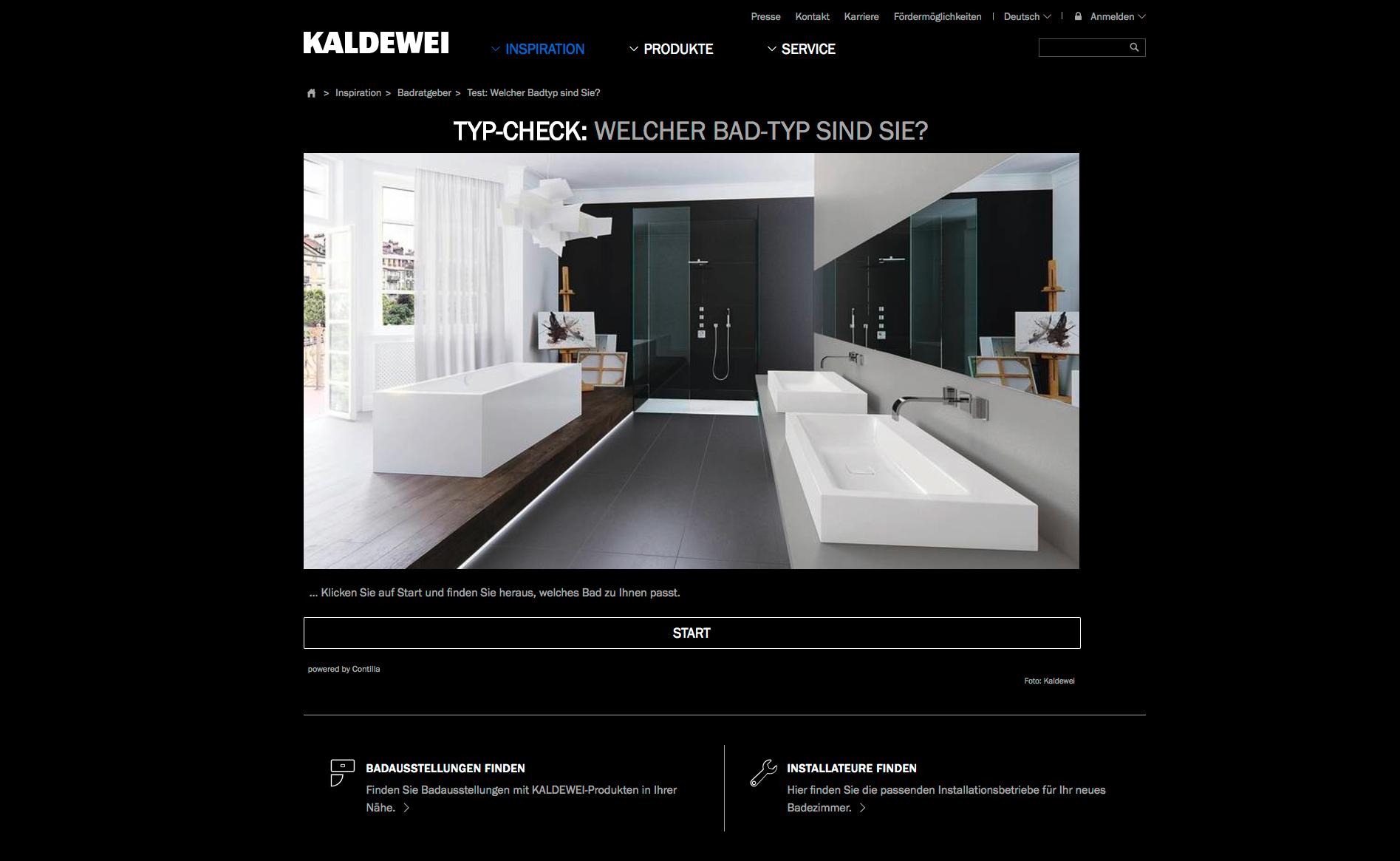 shk profi themen bad design unternehmen markt kaldewei tool zur kundenberatung. Black Bedroom Furniture Sets. Home Design Ideas