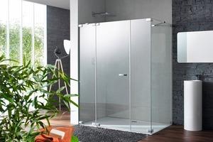 """<div class=""""bildunterschrift_ueberschrift"""">Eine Duschoase </div>Diese Dusche ist nur eine von zahlreichen Möglichkeiten der Serie """"Hüppe Studio Paris""""<br />"""