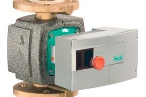 """<div class=""""bildunterschrift_ueberschrift"""">Hocheffizienzpumpe</div>Die """"Wilo-Stratos-Z""""-Hocheffizienzpumpe wurde eigens für den Einsatz in Trinkwarmwasserzirkulationssystemen konzipiert<br />"""