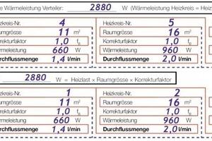 Bekannt Statischer hydraulischer Abgleich - SHK Profi RK65