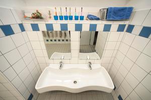 Die Produktvariante mit zwei Waschplätzen wurde in Dortmund eingesetzt<br />