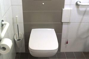 <p>In den Bewohnerbädern wurden WCs aus der Serie Renova Nr. 1 Plan installiert.</p>