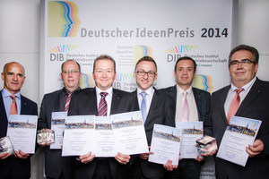 Roberto Pohl, Thorsten Grob, Peter Becker, Josef Sticker, Bernd Freitag und Udo Ungemach (v.l.n.r.)<br />