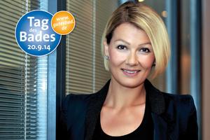 Franziska van Almsick | Foto: Vereinigung Deutsche Sanitärwirtschaft (VDS)/Franziska van Almsick<br />