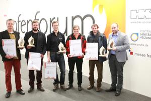 """<div class=""""bildtext_1"""">Die Jury entschied sich für drei Gewinner und zwei Sonderpreise für Kreativität sowie Trend (v.l.): Frank Willnat, Benjamin Zweifel, Andreas Zapfe, Helmut Christian und Gerold Wucherer, David Muhl.</div>"""