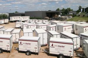heizkurier investiert in seinen mobilen Anlagenpark. (Foto: heizkurier)