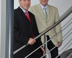 Gerhard Schneider (li.) und Rolf Bommer (re.)